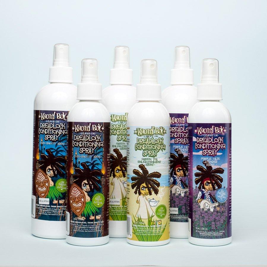 Prodotti: pulizia e cura dei dread - prodotti idratanti - Knotty boy
