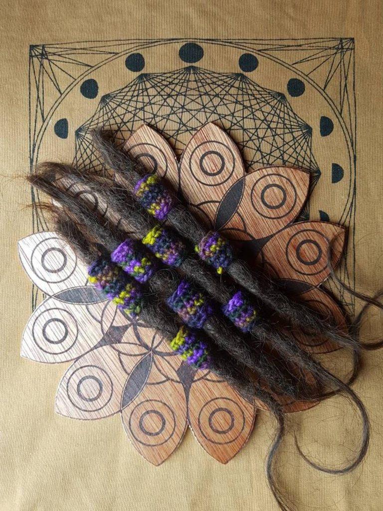 Decorazioni per dreadlocks - SympaticoCrochet